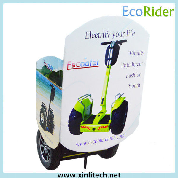 Security Segway Electric Scooter Off Road / Tour Segway Two Wheeled Vehicle