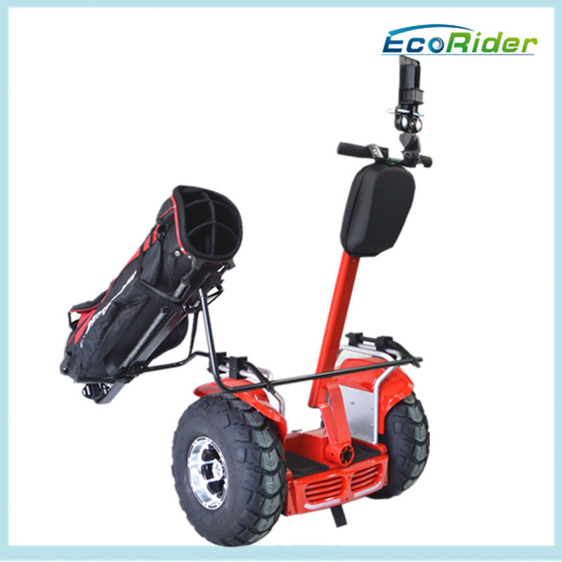 Outdoor Mobility Golf Scooters , Mobility Scooter Golf Cart Hands Free Remote Control