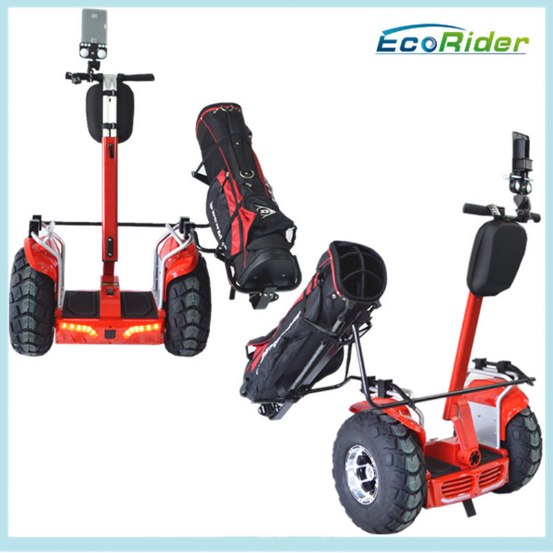 Ecorider Electric Golf Scooter Off Road Free Standing Flexible Turning