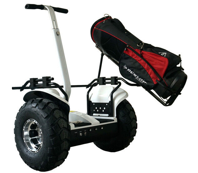 Smart Electric Scooter With Handle / Electric Golf Cart Scooter 43cm Vacuum