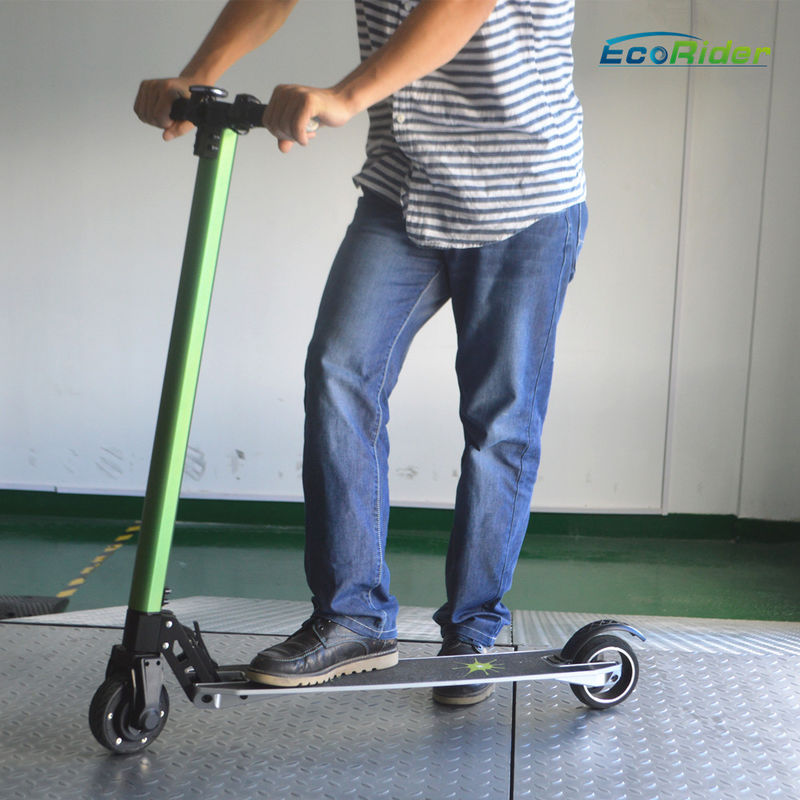 Easy operating Folding adult kick scooter lightweight 350W Power