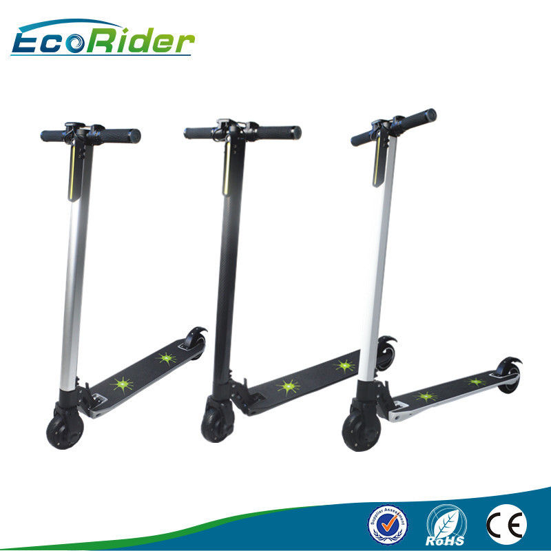 Comfortable riding lightweight folding bicycle , electric foldable scooter Long range