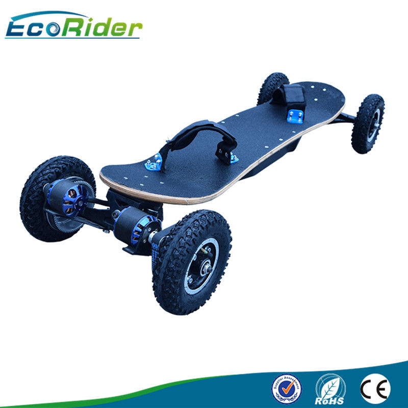 Professional Sport 4 Wheel Skateboard 1800w Automatic Wireless Remote Control