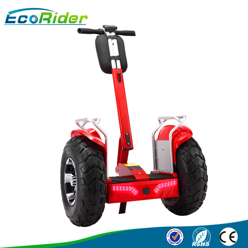 Off Road 2 Wheel Balancing Scooter Outdoor For Tour / Patrol , 4000W Brushless Motor