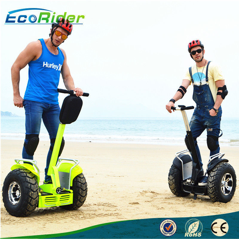E8 -2 Brushless Off Road Segway Motorized Scooter 21 Inch Tire Double Battery 1266wh