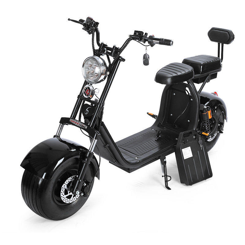 Citycoco 2000w Segway 2 Wheel Electric Scooter 80km Removable Double Lithium Battery