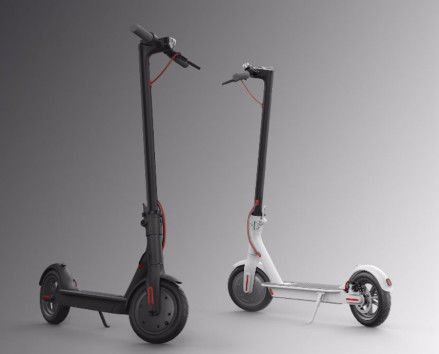 250W Xiaomi Portable 2 Wheel Folding Electric Scooter With Smart App Battery Optional
