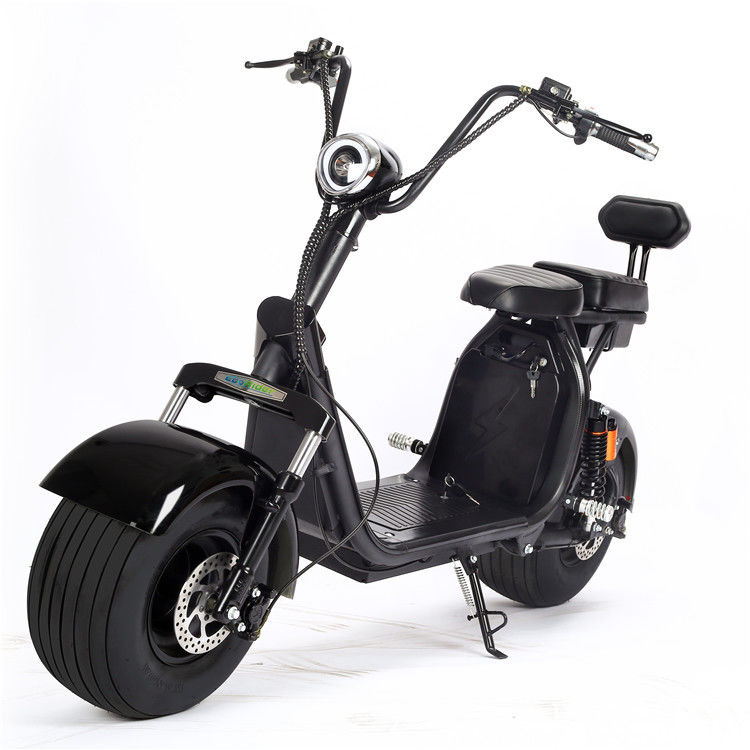 EcoRider E5-7 2 Wheeled Motorized Scooter Big Wheels Citycoco Scooter 50km/h